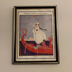 Vogue Wall Art - Vintage Vogue Magazine Cover Poster June 1916